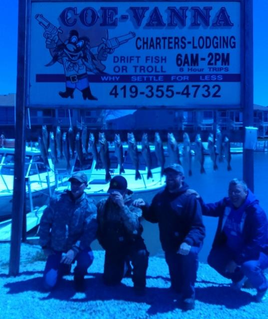 Port Clinton walleye fishing charters
