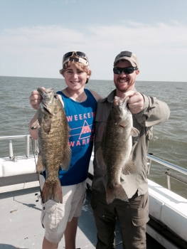 Best Lake Erie perch charters