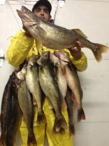 Lake Erie Walleye Charter Fishing