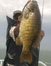 Trophy 6lb Lake Erie Bass
