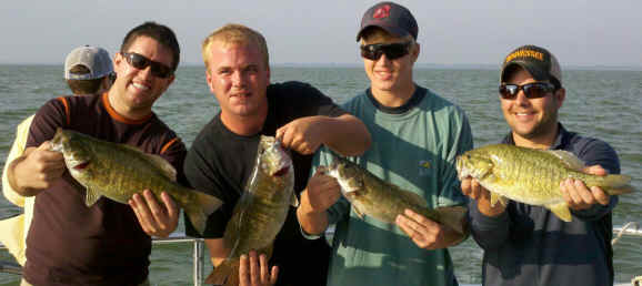 Lake Erie Bass Charters