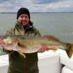 Lake Erie walleye fishing charters
