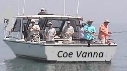 Lake Erie charter fishing boat