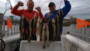 Boat fishing charters on Lake Erie Port Clinton