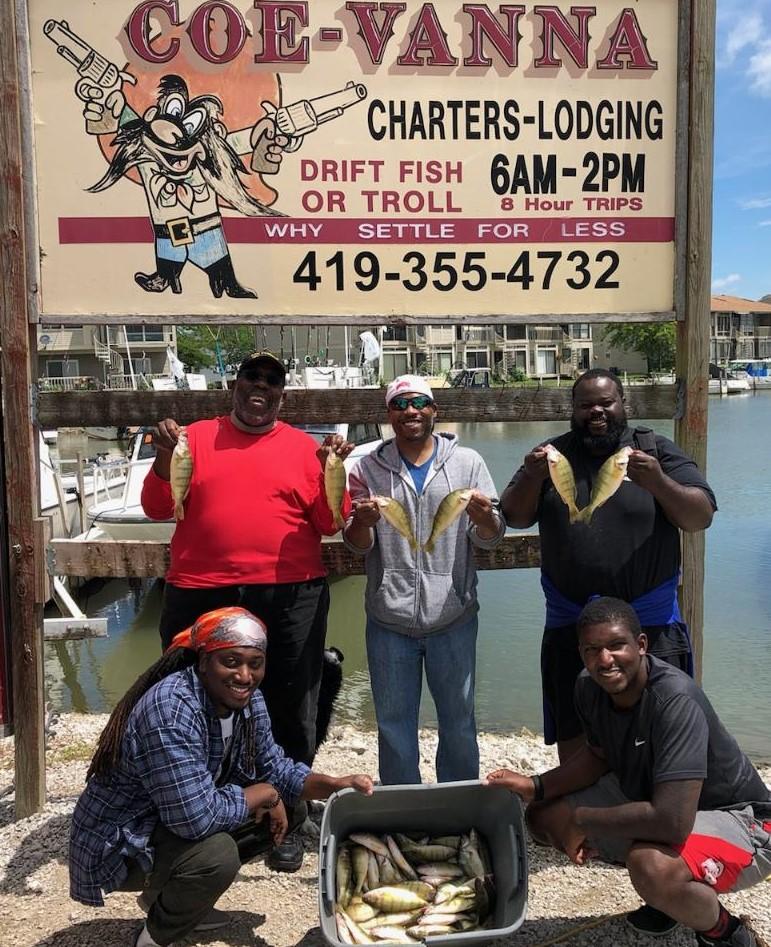 Lake Erie Perch Fishing Charters