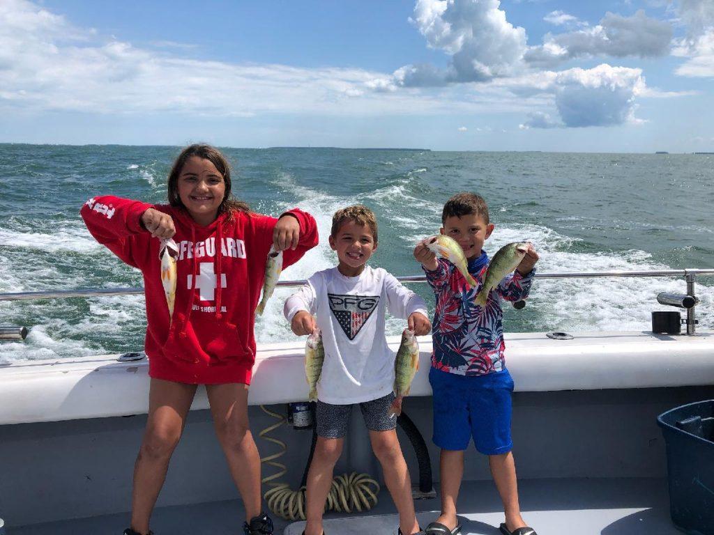 Lake Erie perch fishing