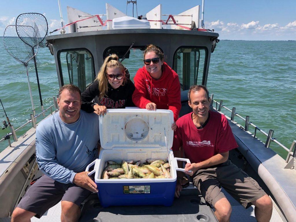 Lake Erie perch charters