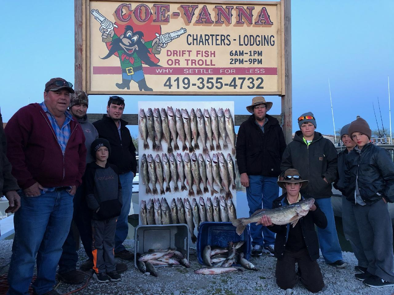 Lake-Erie-Fishing-Walleye