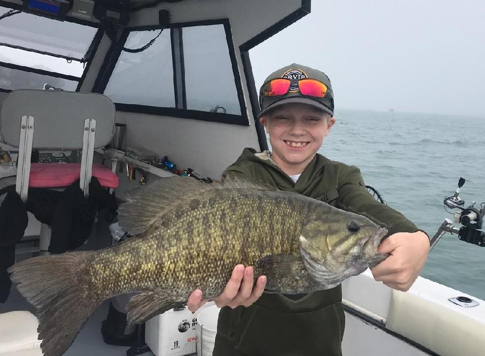 Lake Erie Bass fishing